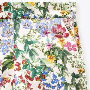 NWT Zara High Waist Floral Printed Shorts, XXL